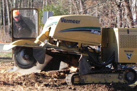 Tree service equipment